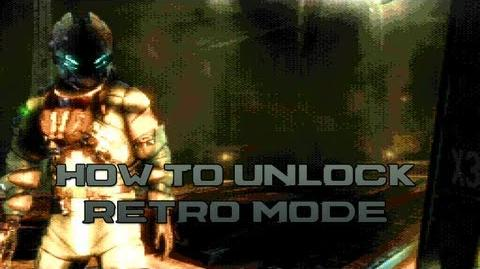 Dead Space 3 - How To Unlock Retro Mode