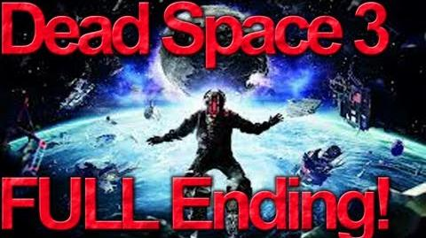 Dead Space 3 - Final Boss, Ending, Credits (Spoilers!) HD
