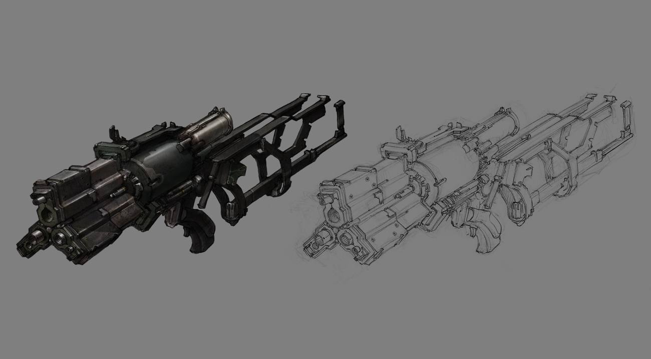Dead Space 3 Rifle Full resolution