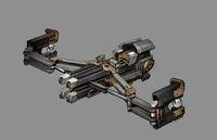 DS3 Line Gun concept art