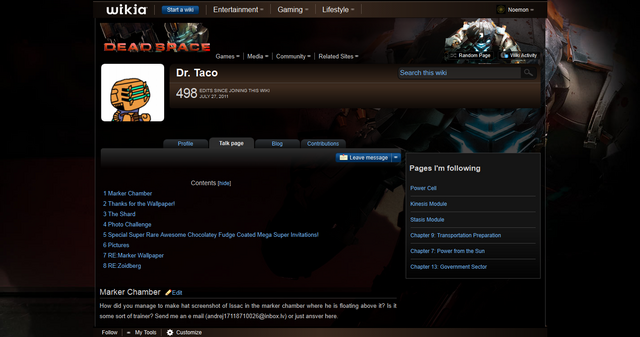File:User talk-Dr. Taco - The Dead Space Wiki - Dead Space, Dead Space- Extraction, Dead Space 2, and more 1313771971914.png