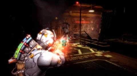 Dead Space 3 - First Encounter with The Regenerator