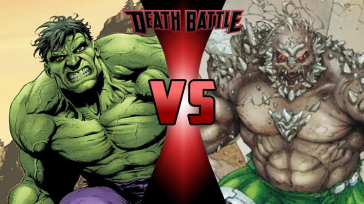 Image - Hulk VS Doomsday (UTF).png | DEATH BATTLE Wiki ... Doomsday Vs Hulk Death Battle