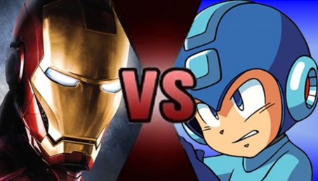 Iron Man Mega Man Fake Thumbnail