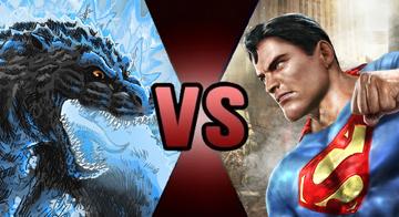 Godzilla Superman Fake Thumbnail
