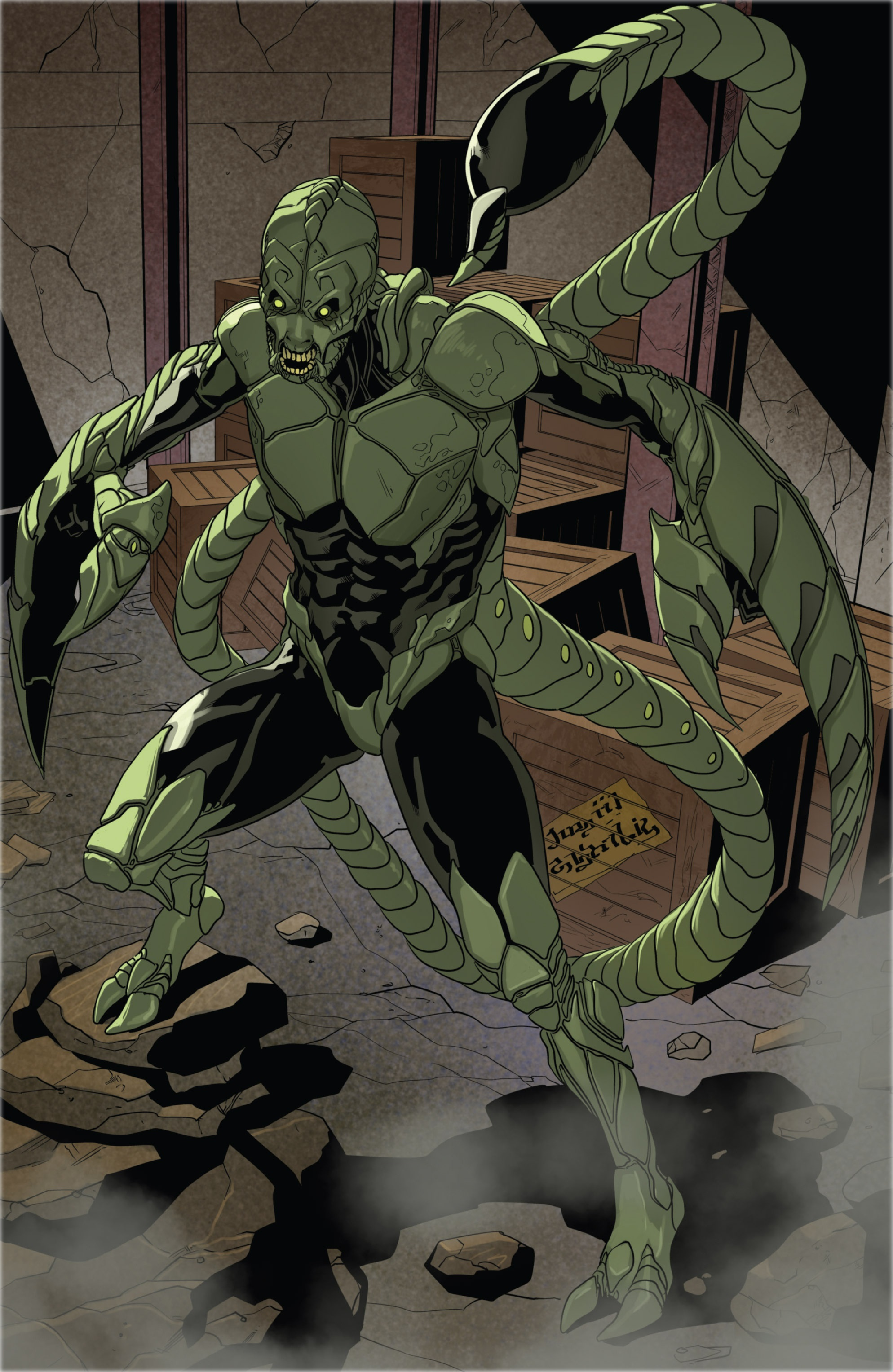 Scorpion (Marvel Comics) | Death Battle Fanon Wiki ...