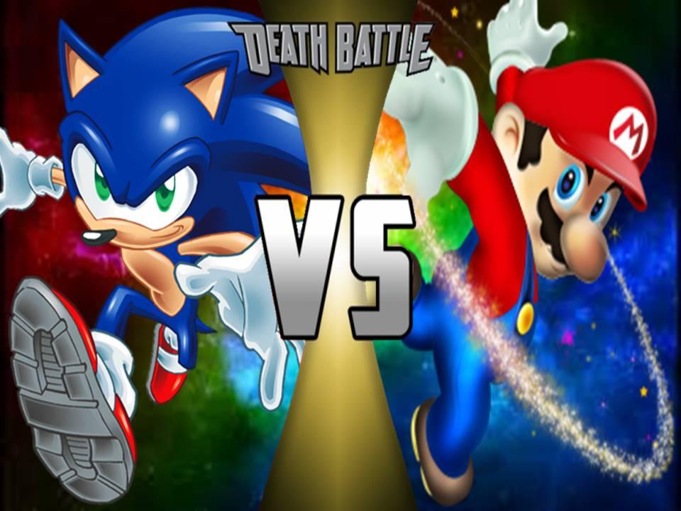 user blogganimemario vs sonic rematch death battle