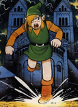 The Legend of Zelda - Link as he appears in the Nintendo Power Comics version of A Link To The Past