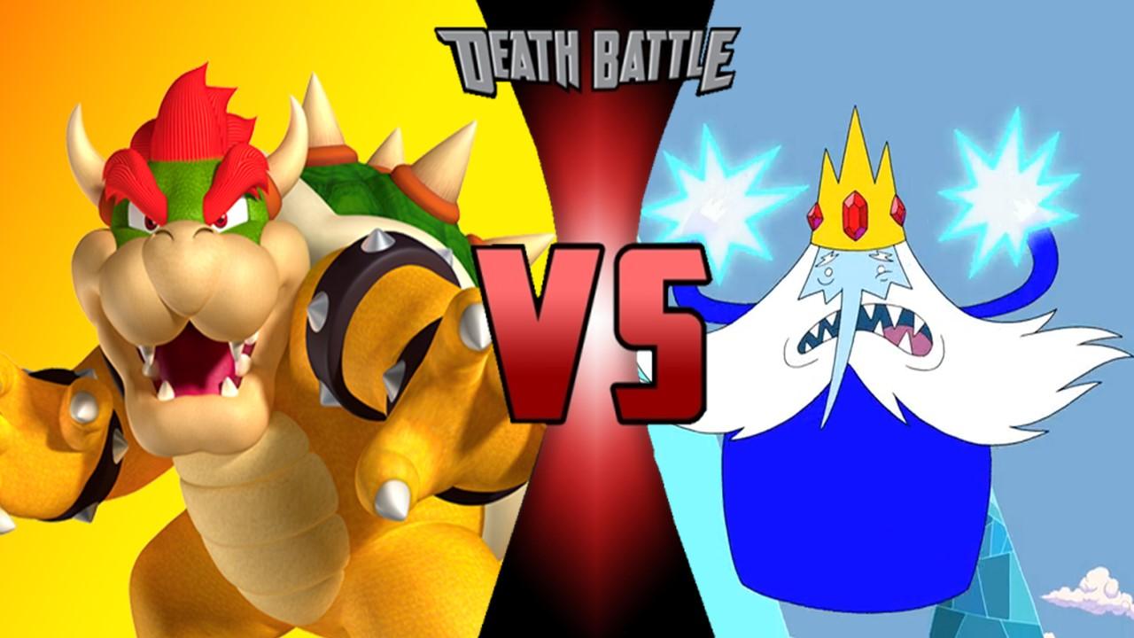 bowser vs ice king death battle fanon wiki fandom