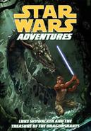 Star Wars - Luke Skywalker as seen on the Comic Book Cover of Star Wars Adventures