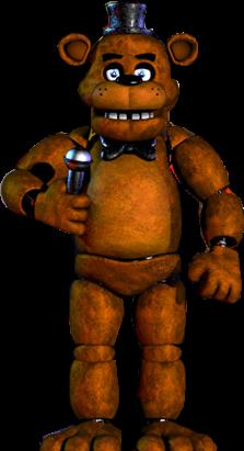Freddy fazbear is a five nights at freddy s enemy he is the main