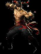 Mortal Kombat - Liu Kang as seen in Mortal Kombat 2011