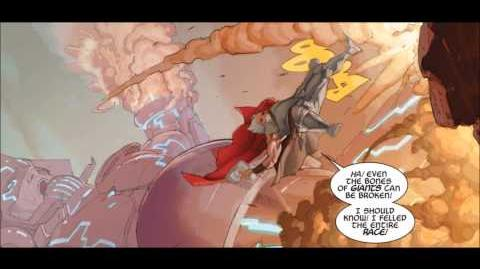 Galactus vs King Thor