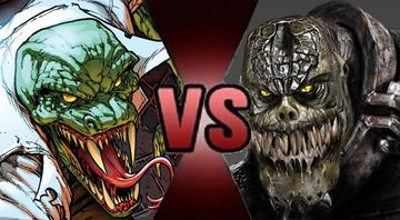 Lizard vs Killer Croc (Alt)