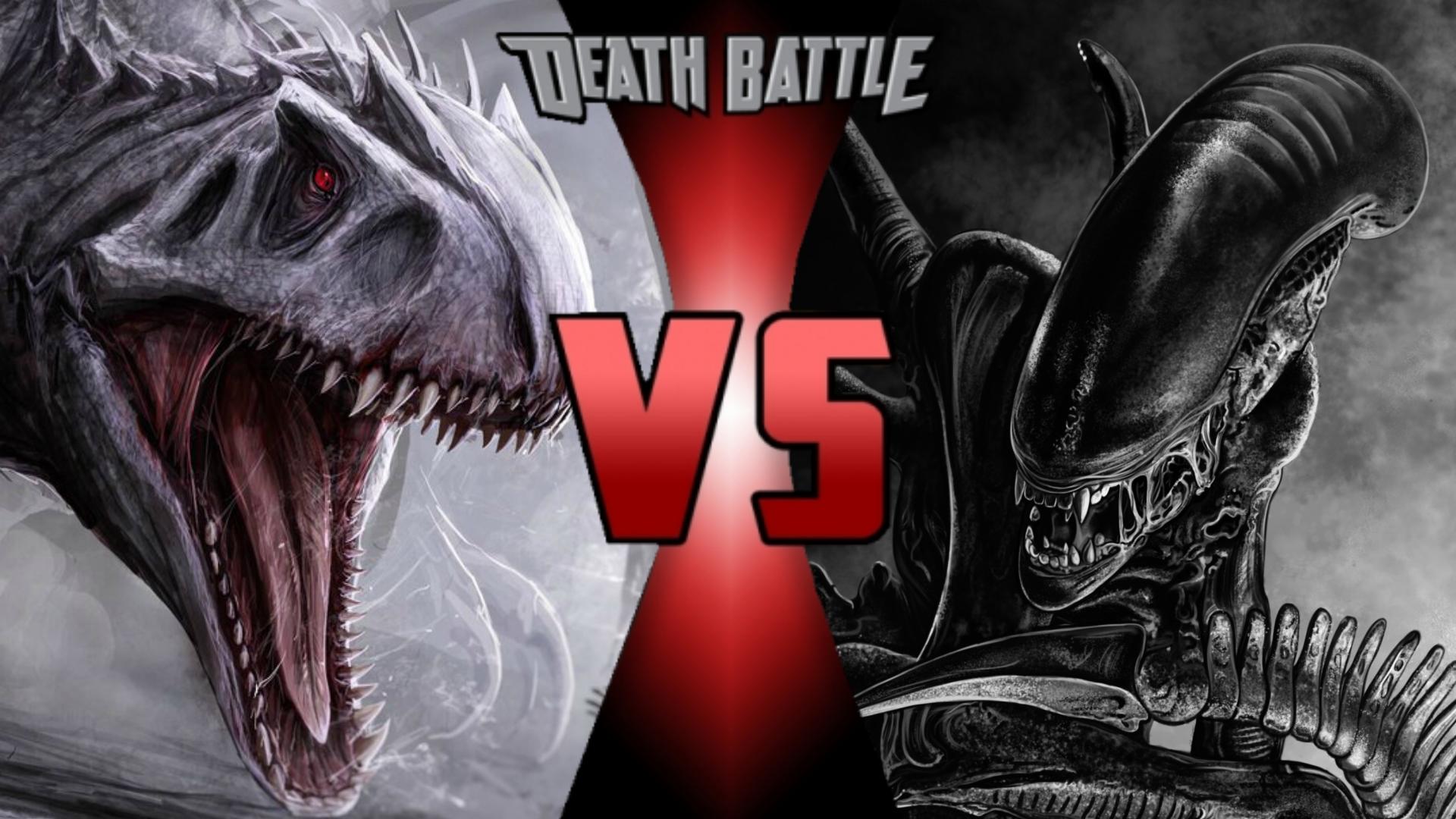 Indominus Rex vs. Xenomorph | Death - 3330.7KB