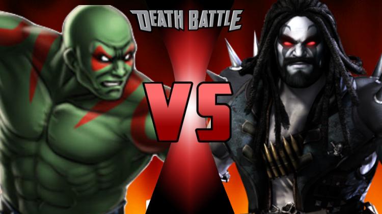 Drax The Destroyer Vs Venom: Drax The Destroyer Vs. Lobo