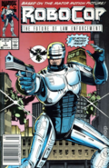 RoboCop - RoboCop as he appears on the front cover of Marvel Comics