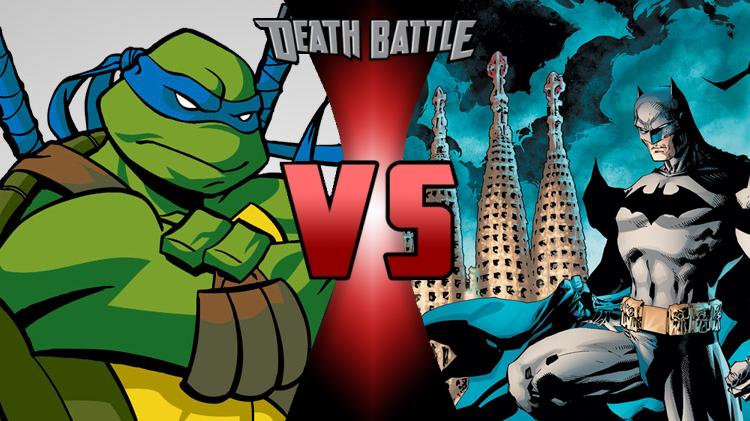 Leonardo Vs Batman