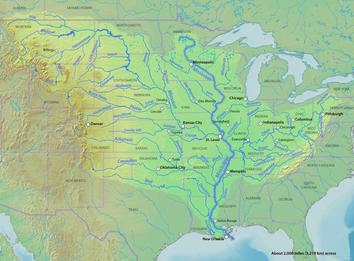 map of the united states with mississippi river with Mississippi River on Killbuck Creek together with Davy Jones Discovery Opening New Shelf Frontier In Ultradeep Geology Below besides Mississippi River besides Selenga River Delta furthermore 495227012.