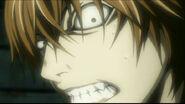 Annoyed Light Yagami