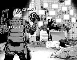 Mello and Soichiro Cornered