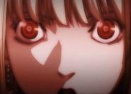Misa's shinigami eyes