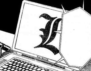 L laptop