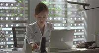 Kujo at her desk