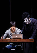 Musical Korean promo Light and Ryuk