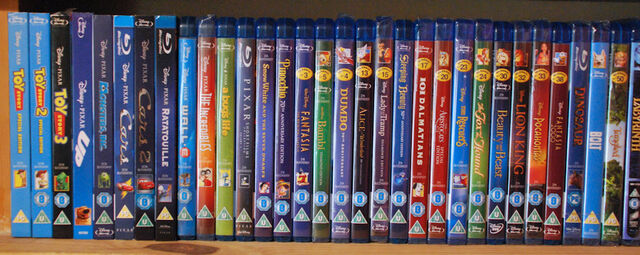 File:Disney Blu-Ray collection.jpg