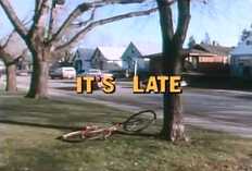 It's Late - Title Card
