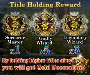 Magica Magius MA&SS Title Holding Reward