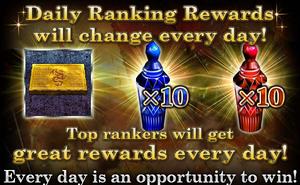 Daily Ranking Rewards