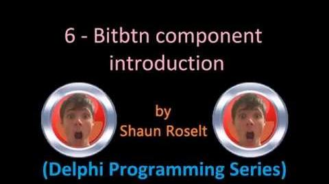 Delphi Programming Series 6 - Bitbtn component introduction