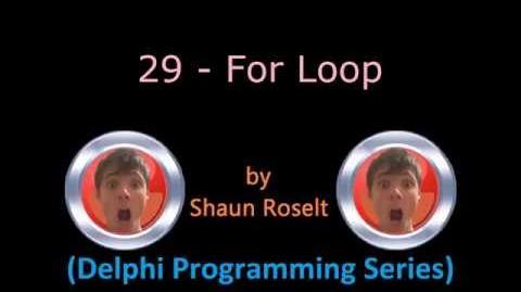 Delphi Programming Series 29 - For Loop