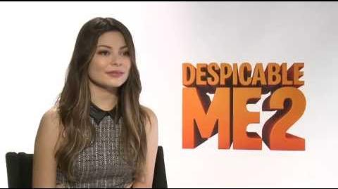 Despicable Me 2 - Miranda Cosgrove Interview