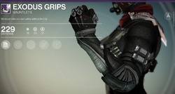 Exodus Grips (Hunter)