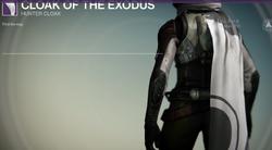Cloak of the Exodus