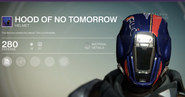 Hood of No Tomorrow