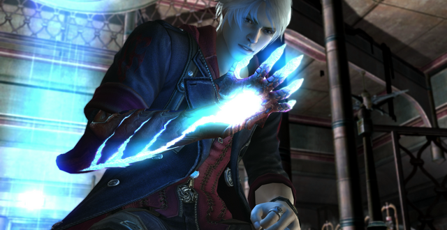 File:Nero looking at Devil Bringer.png