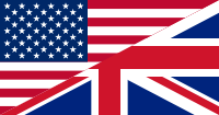 Datei:Flags of the United States and the United Kingdom.png