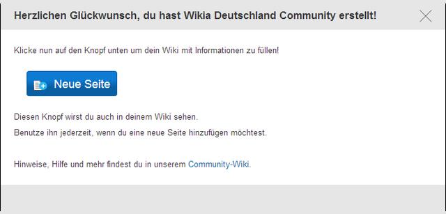 Datei:Du hast Wikia Deutschland Community erstellt.png