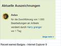 Recent earned Badges - Internet Explorer 9.png