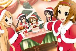 Weihnachten Kuchen K-on.jpg