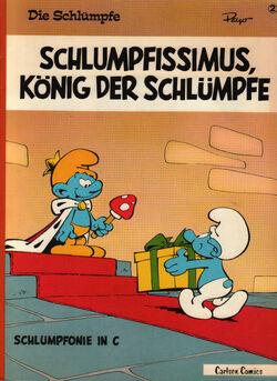 02 Schlumpfissimus König der Schlümpfe Carlsen a front.jpg