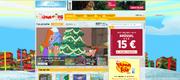 Phineas und Ferb - Weihnachtsdesign