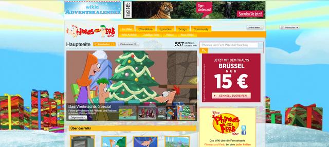 Datei:Phineas und Ferb - Weihnachtsdesign.png