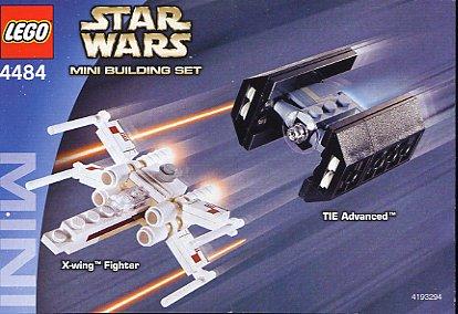 Datei:MINI X-Wing Fighter & TIE Advanced 4484.jpg