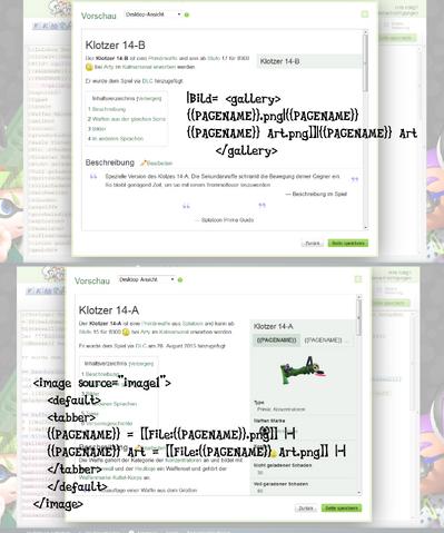 Datei:Neue Infobox, Bilder Automatik anhand des Seiten Namens einfügen..png