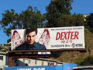Dexter season6 TV billboard